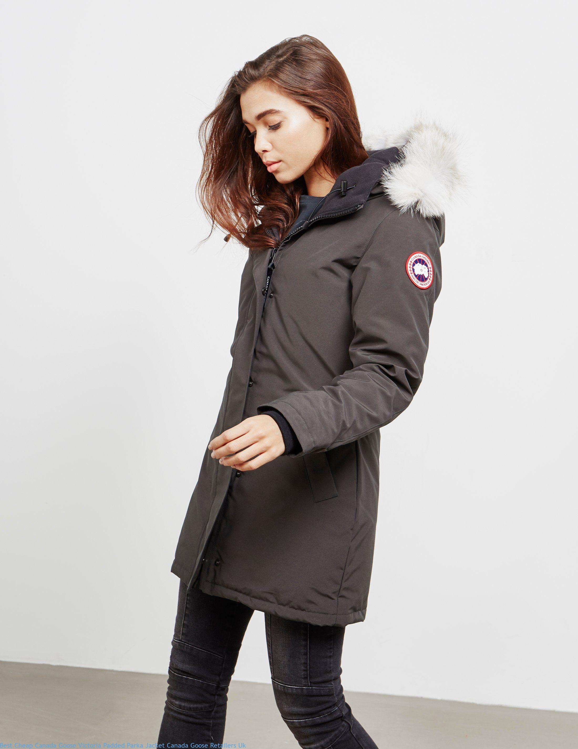 canada goose brown jacket