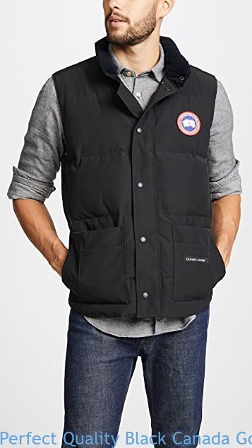 1c14b5c4217 Perfect Quality Black Canada Goose Freestyle Crew Vest Canada Goose Ebay Uk  1593618077