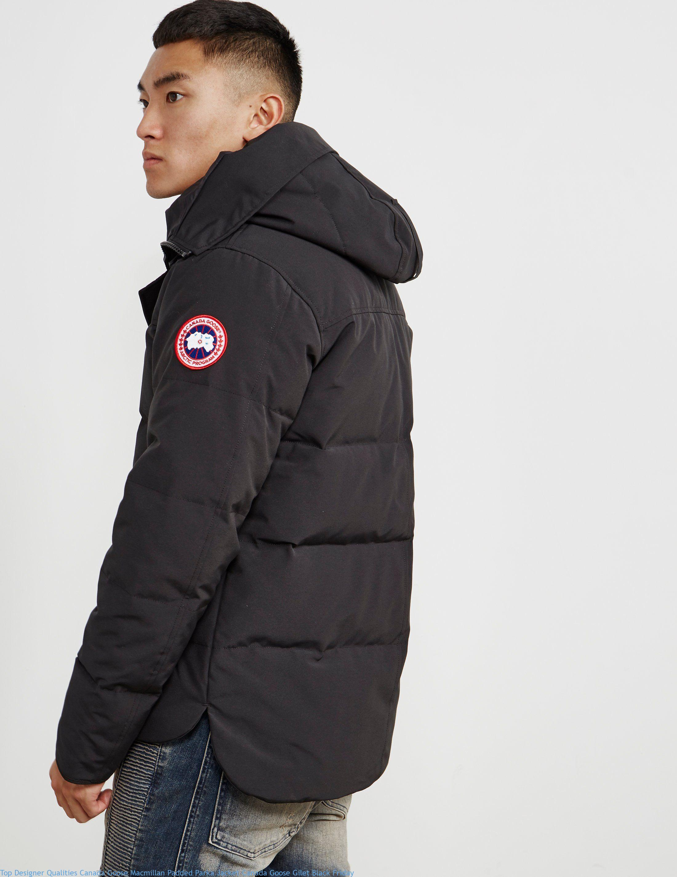 Top Designer Qualities Canada Goose Macmillan Padded Parka Jacket Canada Goose Gilet Black Friday Cheap Canada Goose Outlet Jackets Sale